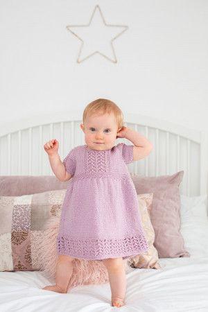 Dress in Cygnet Grousemoor DK (CY1056)