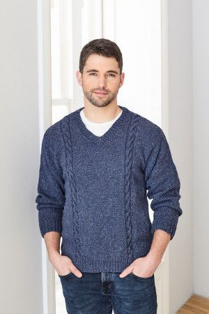 Sweaters in King Cole Forest Aran (5659)