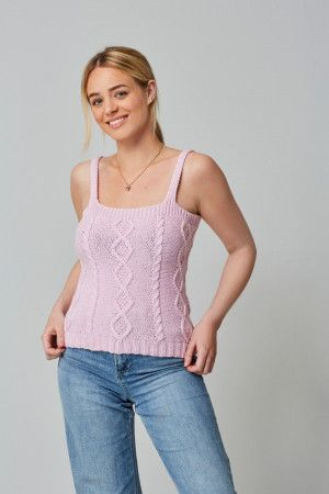 Tops and Cardigan in King Cole Cottonsoft DK (5761)