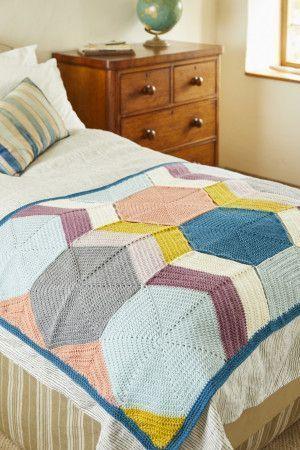 Blanket A in Stylecraft Special DK (9449)