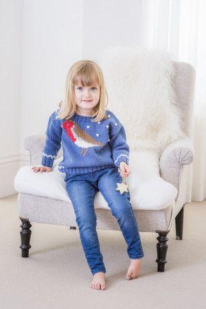 Child's Robin Sweater
