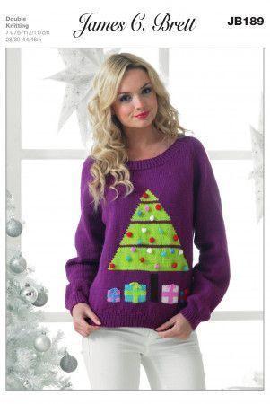 Sweater in James C. Brett Top Value DK (JB189)