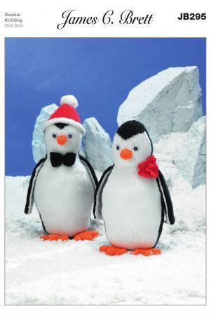 Penguins in James C. Brett Top Value DK (JB295)