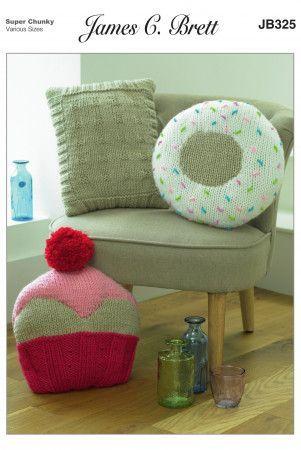 Cushions in James C. Brett Amazon Super Chunky (JB325)