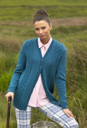Cardigan and Waistcoat in Stylecraft Life DK (9027)