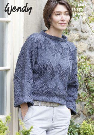 Sweater in Wendy Love it DK (6043)