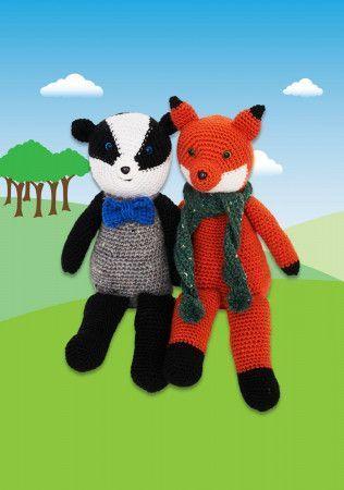 Woodland Toys in Stylecraft Life DK (9665)