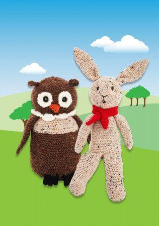 Woodland Toys in Stylecraft Life DK (9666)