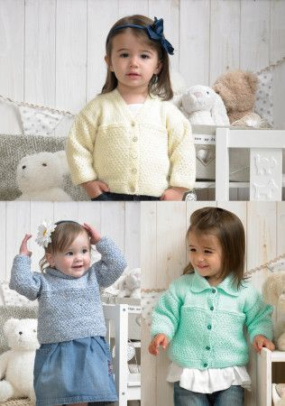Cardigans and Sweater Stylecraft Special for Babies DK (4376)
