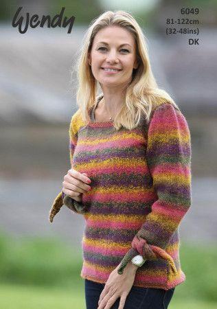 Sweater in Wendy Aurora DK (6049)