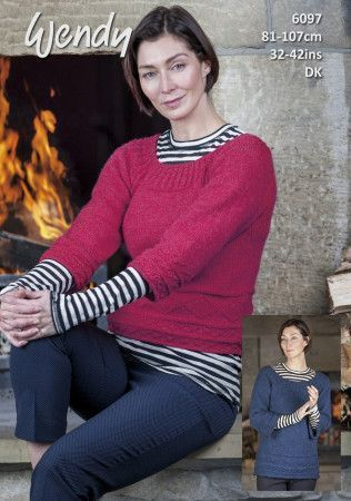 Sweaters in Wendy With Wool DK (6097)