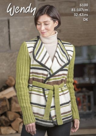 Jacket in Wendy With Wool DK (6100)