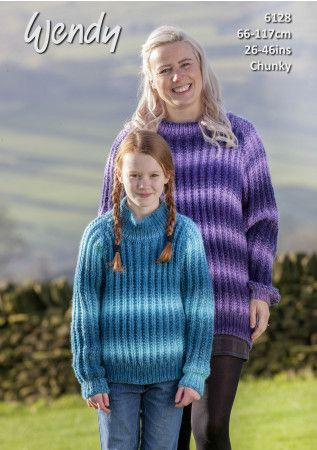 Sweater in Wendy Stella Chunky (6128)