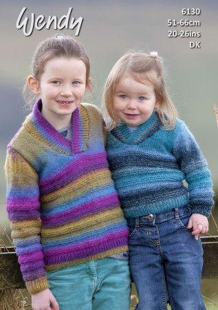 Sweater in Wendy Aurora DK (6130)
