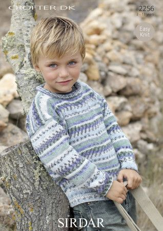 Sweater in Sirdar Crofter DK (2256)