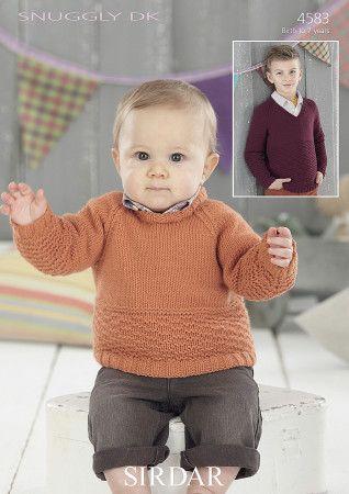 Sweaters in Sirdar Snuggly DK (4583)