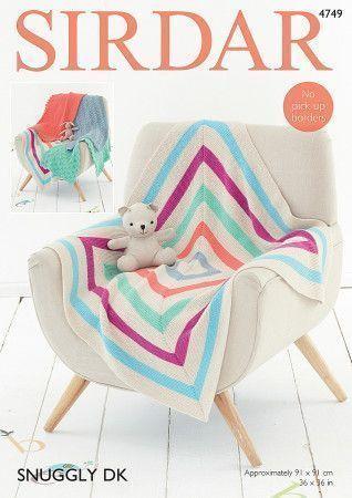 Blankets in Sirdar Snuggly DK (4749)