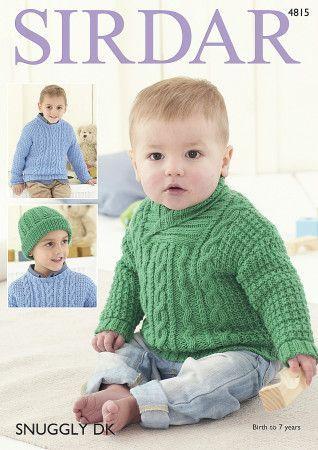 Sweaters in Sirdar Snuggly DK (4815)