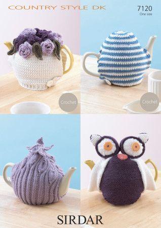 Tea Cosies in Sirdar Country Style DK (7120)
