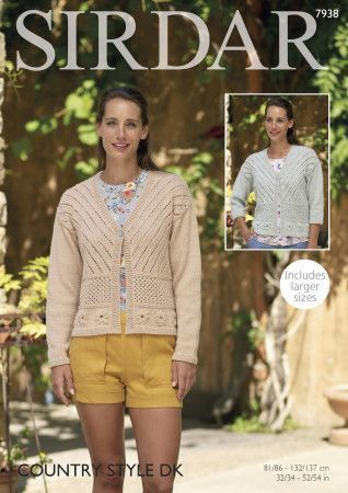 Jackets in Sirdar Country Style DK (7938)