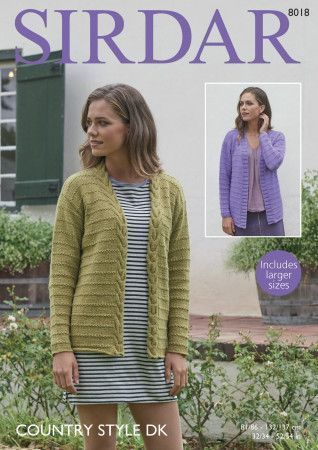 Jackets in Sirdar Country Style DK (8018)