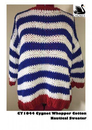 Sweater in Cygnet Whopper Cotton (CY1044)