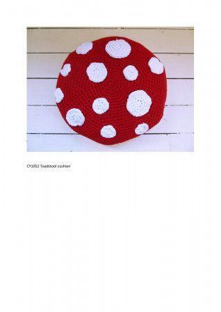 Cushion in Cygnet Whopper Cotton (CY1052) - PDF - Print at Home