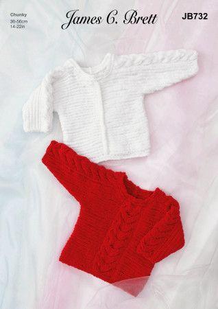 Sweaters in James C.Brett Flutterby Chunky (JB732)