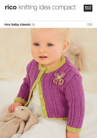 Cardigans in Rico Baby Classic DK (090)