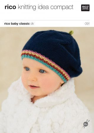 Hats in Rico Baby Classic DK (091)
