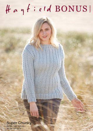 Sweater in Hayfield Bonus Super Chunky (10000)