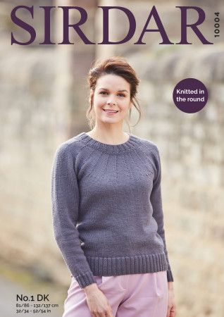 Sweater in Sirdar No.1 DK (10004)