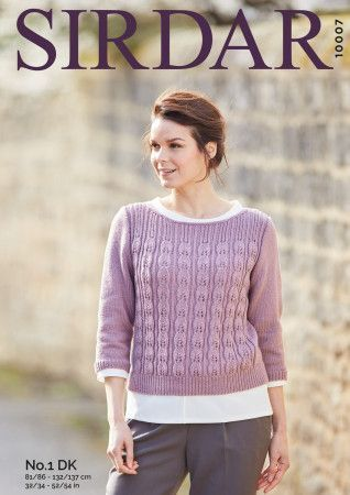 Sweater in Sirdar No.1 DK (10007)