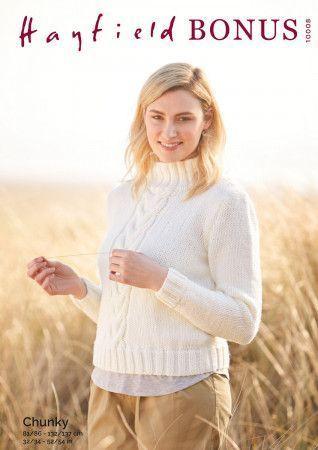 Sweater in Hayfield Bonus Chunky (10008)