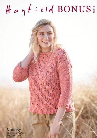 Sweater in Hayfield Bonus Chunky (10010)