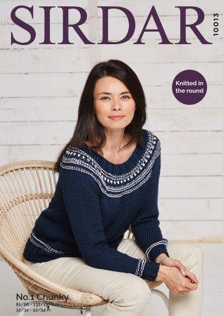 Sweater in Sirdar No.1 Chunky (10013)