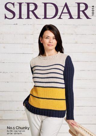 Sweater in Sirdar No.1 Chunky (10014)