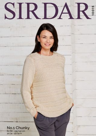 Sweater in Sirdar No.1 Chunky (10015)