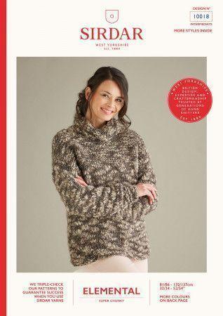 Sweater in Sirdar Elemental (10018)