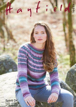 Sweater in Hayfield Spirit DK (10033)