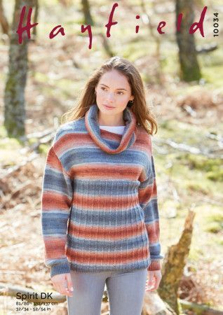 Sweater in Hayfield Spirit DK (10034)