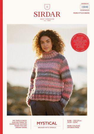 Sweater in Sirdar Mystical (10040)