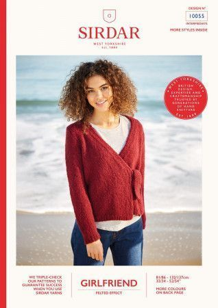 Cardigan in Sirdar Girlfriend (10055)