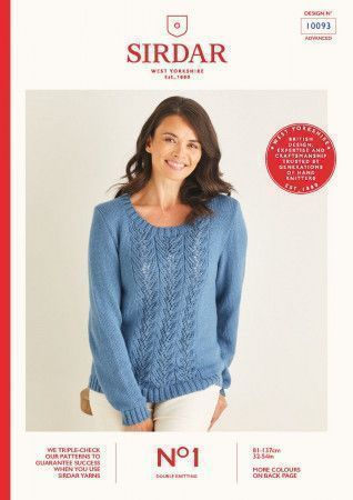 Sweaters in Sirdar No.1 DK (10093)