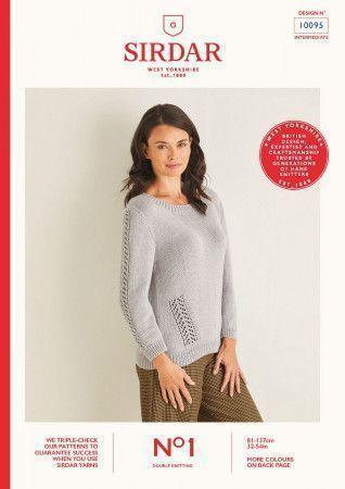 Sweater in Sirdar No.1 DK (10095)