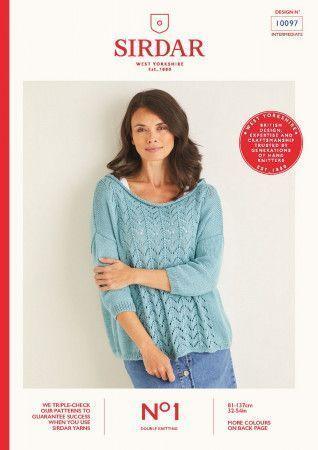 Sweater in Sirdar No.1 DK (10097)
