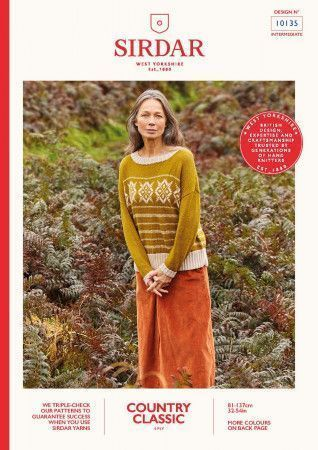 Sweater in Sirdar Country Classic 4 Ply (10135)