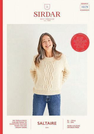 Sweater in Sirdar Saltaire (10174)