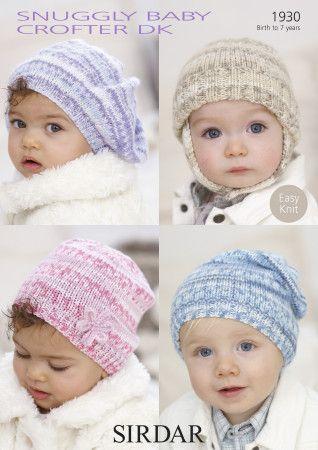 Hats in Sirdar Snuggly Baby Crofter DK (1930)