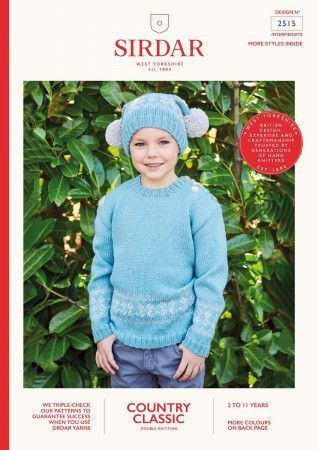 Sweater and Hat in Sirdar Country Classic DK (2515)